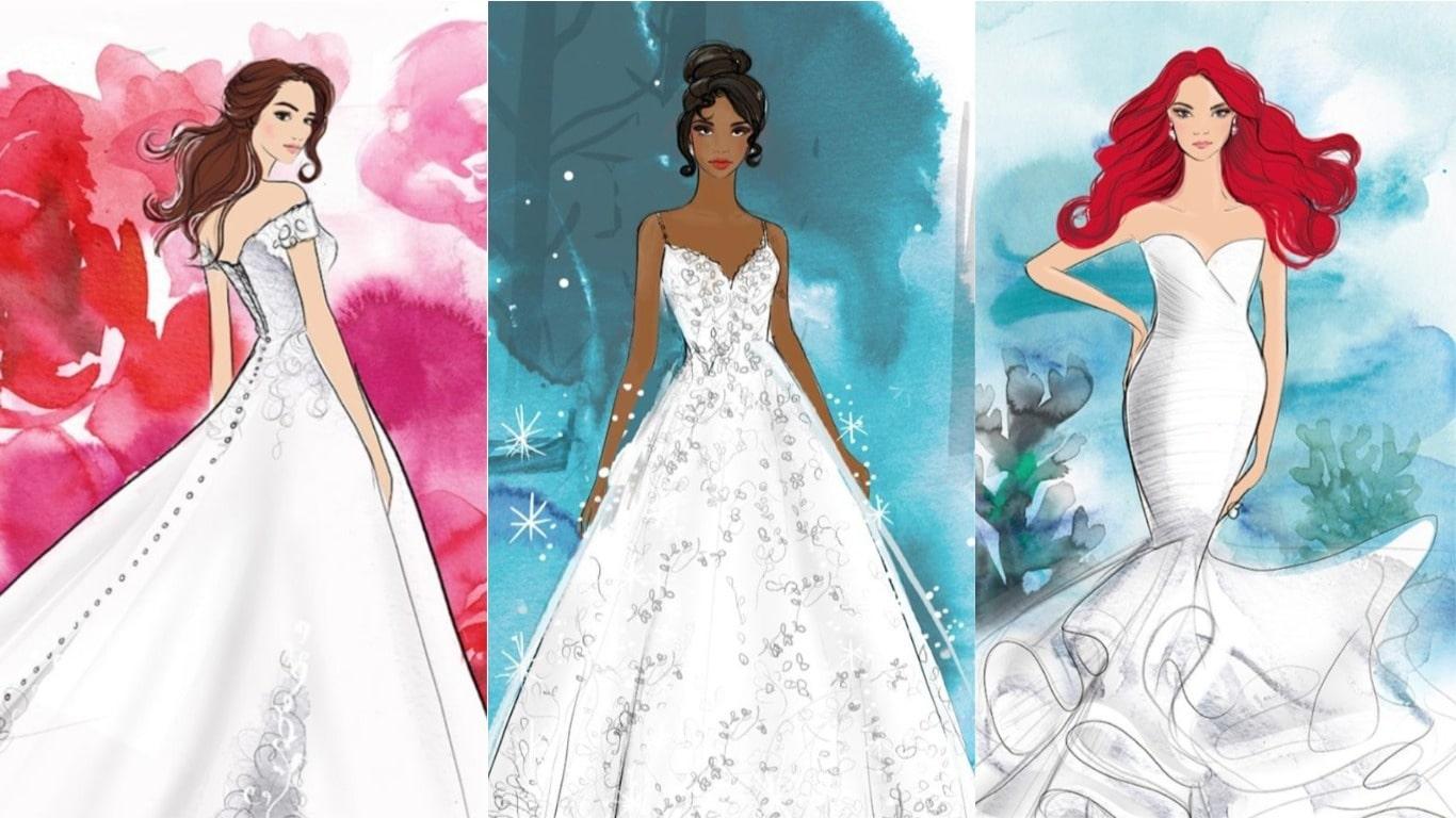 EFFEEDORA - robe de mariée Disney